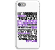 Piece a Week #32: The Crazy Ones iPhone Case/Skin