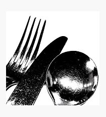 Cutlery Photographic Print