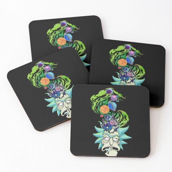Big Bang Rick Sanchez  Coasters (Set of 4)
