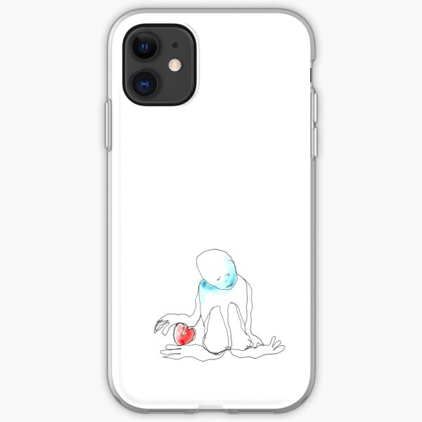 In deep thought iPhone Soft Case