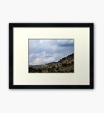 The Beauty Of Rural Nevada Framed Print