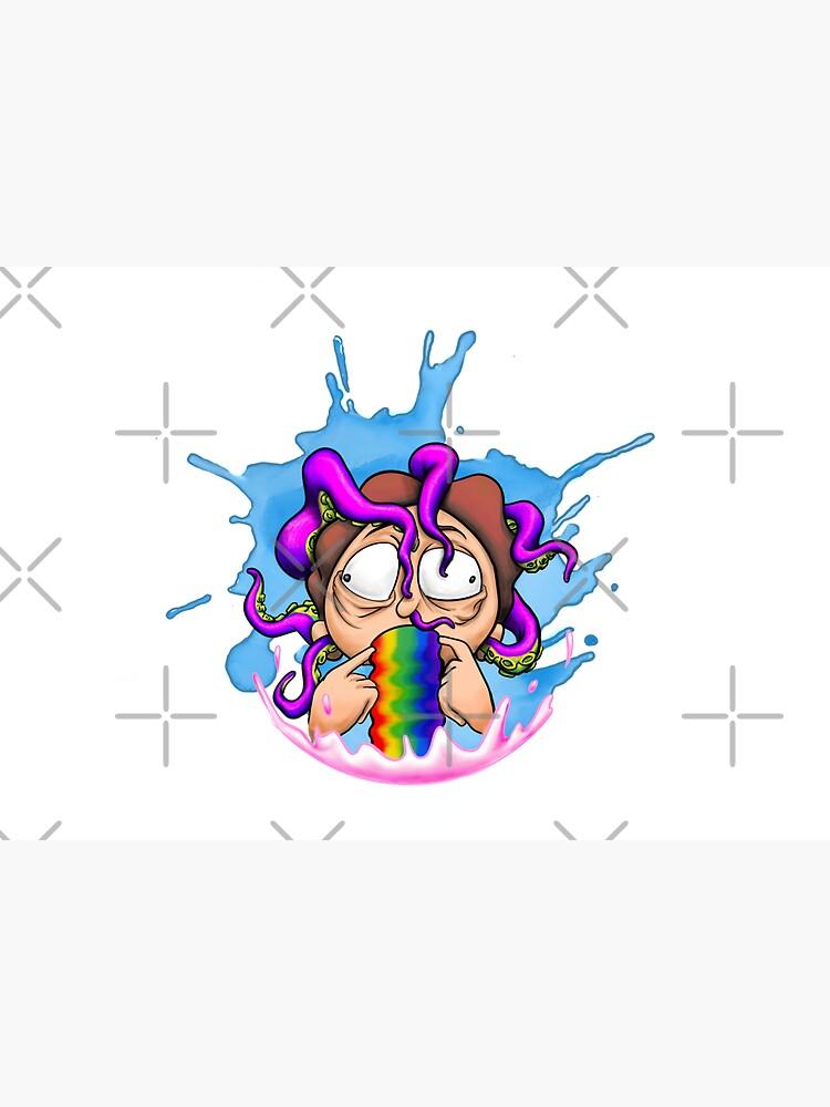 Morty Rainbow Squishy by iblazearte