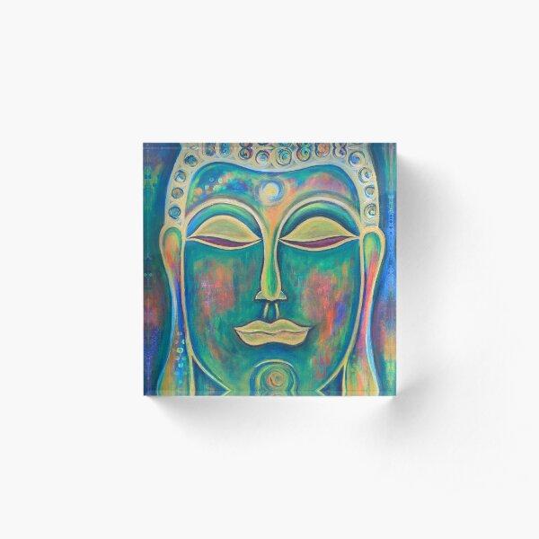 Buddha Acrylic Block