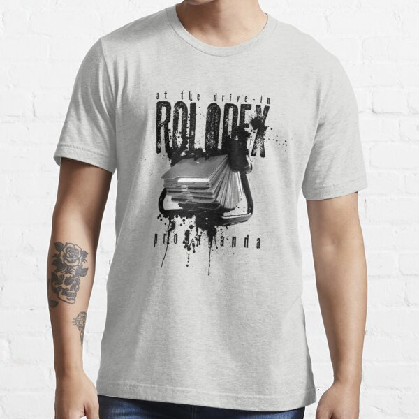 Rolodex Propaganda - At the Drive-in Essential T-Shirt