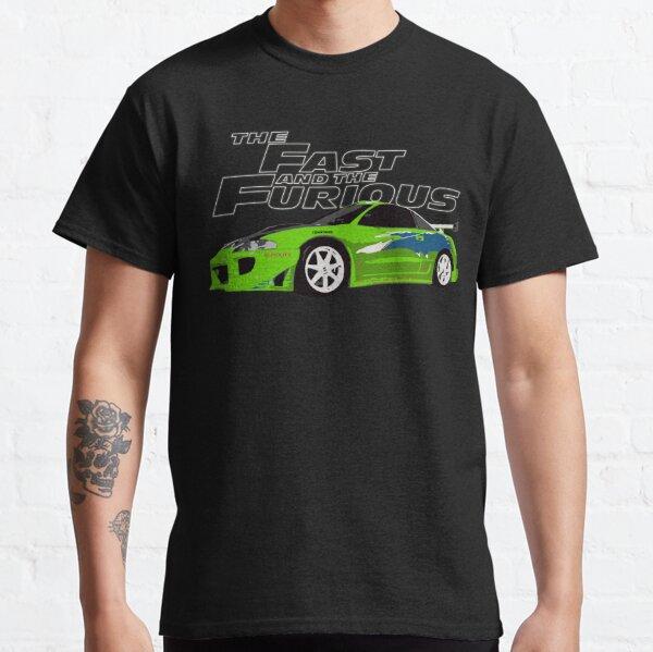 Mitsubishi eclipse DSM kawasaki green Classic T-Shirt
