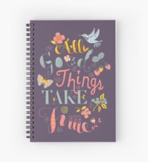 All Good Things Spiral Notebook
