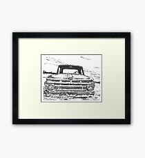 FORD truck in GA Framed Print