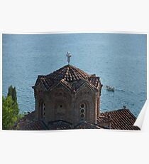Ohrid, Sv. Jovan at Kaneo Poster