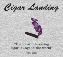 Cigar Landing T-Shirt, New York City Cigar Lounge