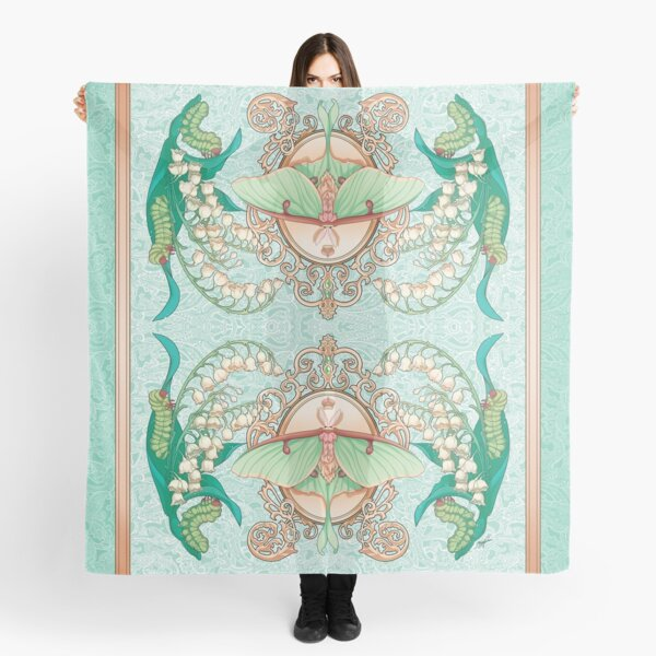Moon Moth Scarf