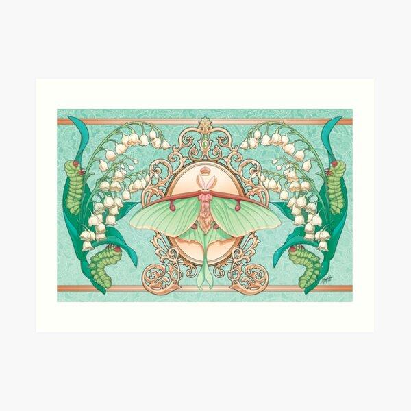 Moon Moth Art Print