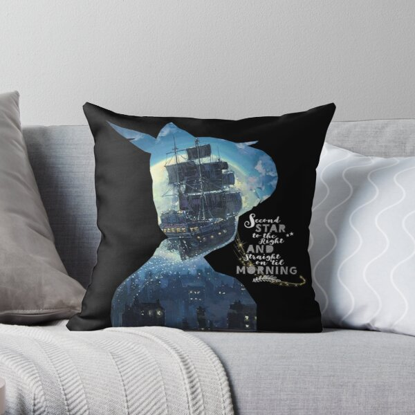 The second star to the right!  Throw Pillow