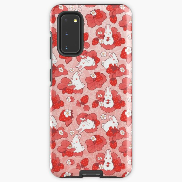 Strawbunny Delight Samsung Galaxy Tough Case