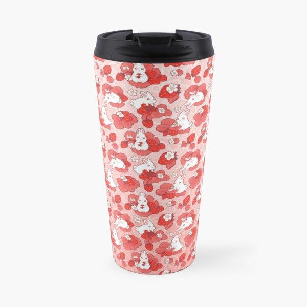 Strawbunny Delight Travel Mug