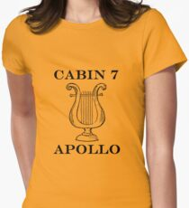 Camp Halfblood - Apollo Cabin Womens Fitted T-Shirt