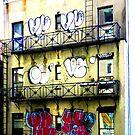 graffiti nyc by Ellen  Hagan