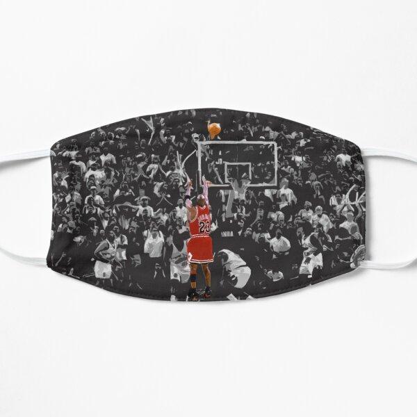 Michael Jordan The Last Shot for Game 6 Flat Mask