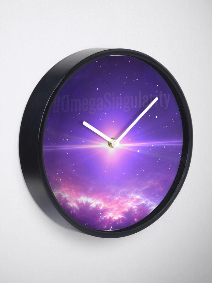 Alternate view of #OmegaSingularity Clock