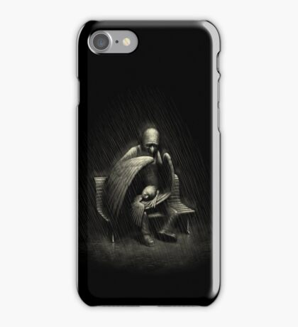 Two Wings and a Prayer iPhone Case/Skin