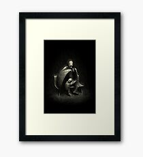 Two Wings and a Prayer Framed Print
