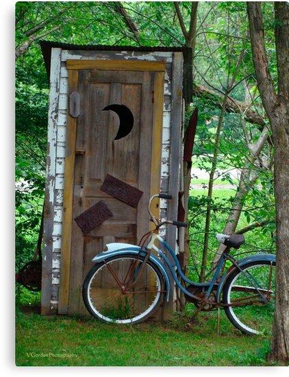 The Bike and the Bathroom by vigor