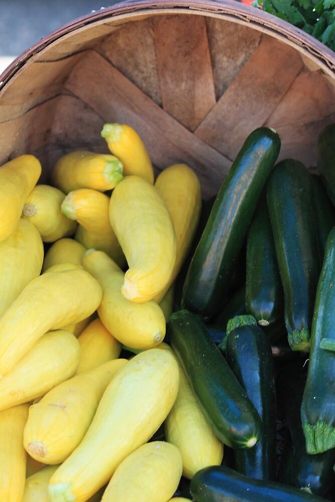 Cucumbers & Squash by B.L. Thorvilson