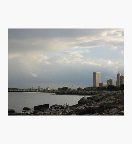 Milwaukee Cityscape 08 19 2012 Photographic Print