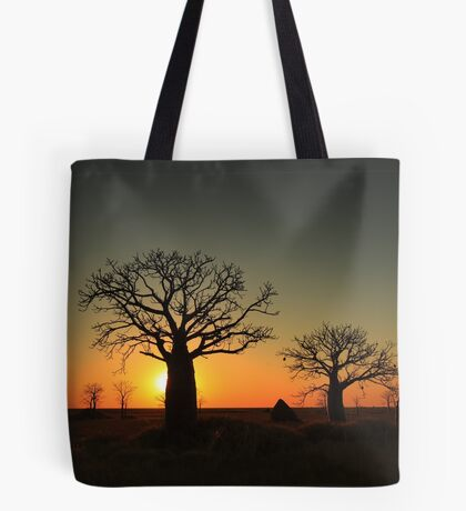 Sunset on the flats Tote Bag