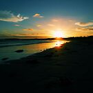 sea sunset by evvy84