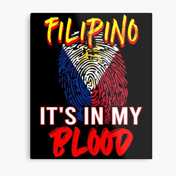 Filipino Flag Independence Day Pinoy Metal Print