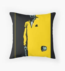 The One Who Knocks - POSTER Throw Pillow