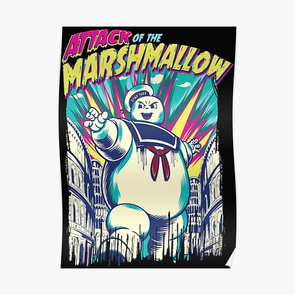 Attack of the Marshmallow Poster