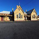 The Old Tenterfield Railway Station. NSW, Australia. (1886) by Ralph de Zilva