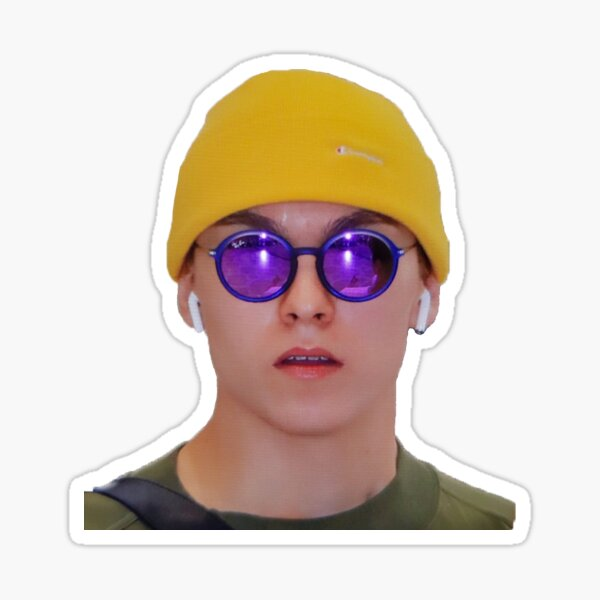 vernon phone case meme Sticker