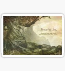Once Upon a Whistling Tree Sticker