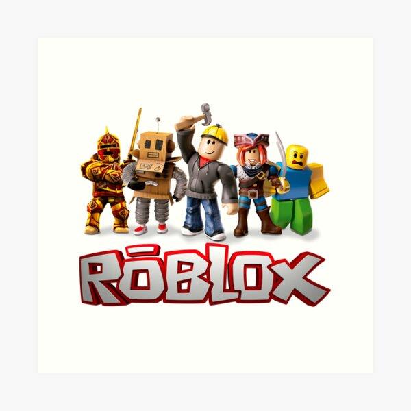 ROBLOX Kids T-shirt Tee Top red print Gaming Gamer Garçons Filles