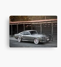 'Eleanor'-inspired Mustang Fastback Metal Print