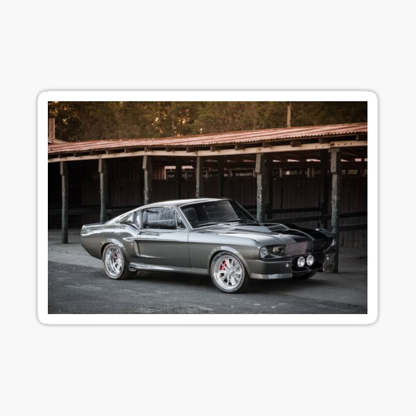 'Eleanor'-inspired Mustang Fastback Sticker