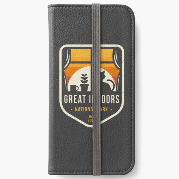 Great Indoors National Park iPhone Wallet