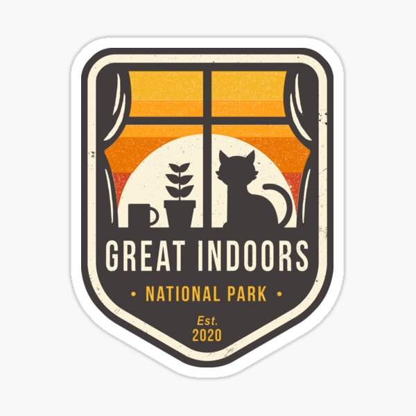 Great Indoors National Park Sticker