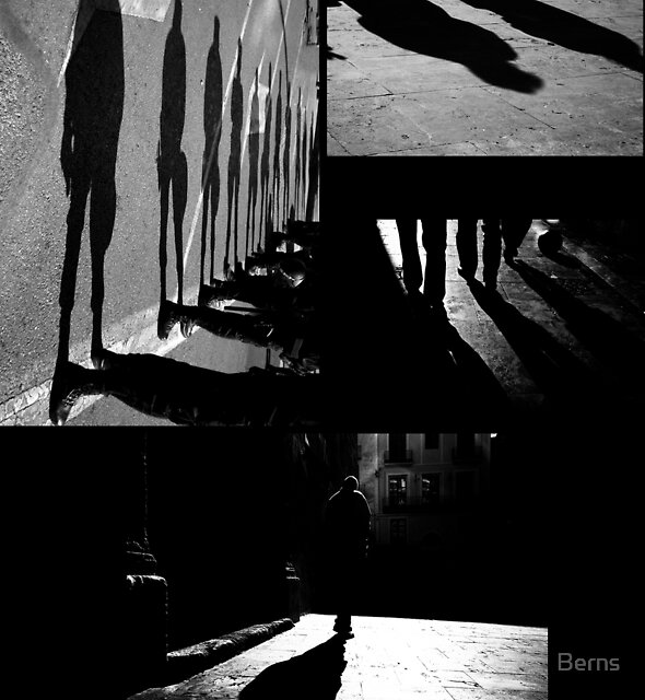 In the Footsteps of Shadows... by Berns