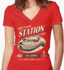 Tosche Station Women's Fitted V-Neck T-Shirt