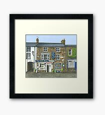 Reeth Gift Shop, Swaledale Framed Print