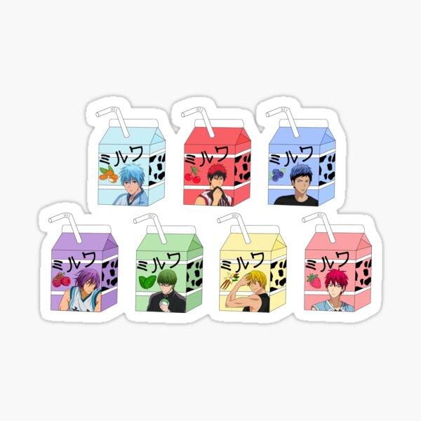 Kuroko's basket milks Sticker
