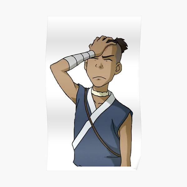 frustrated sokka Poster