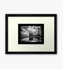The Pumping Station. Framed Print