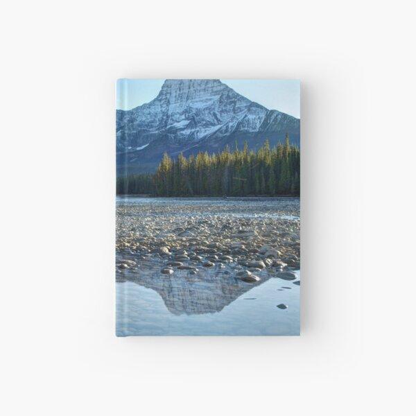 Sunwapta River in the Canadian Rockies Hardcover Journal