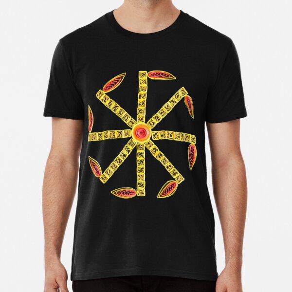 Kolovrat - Slavic Symbol Premium T-Shirt