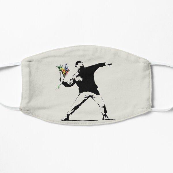 Banksy - Flower thrower Masque sans plis