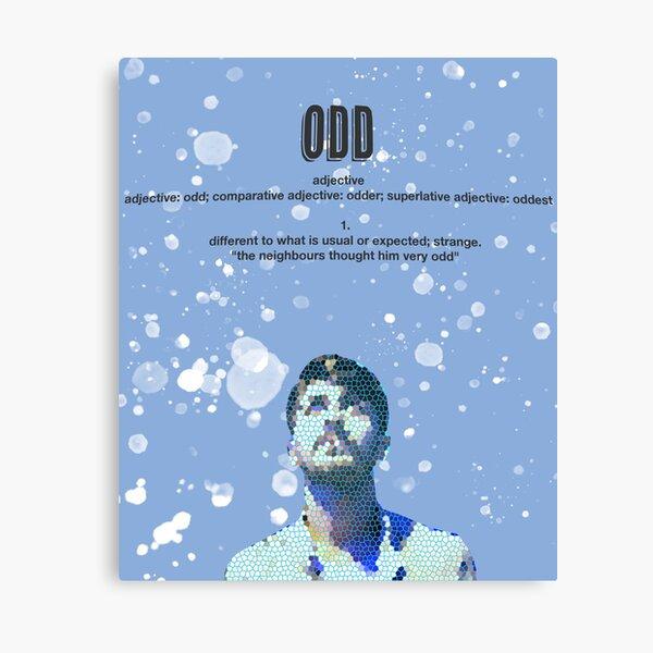 Odd Poster design Canvas Print